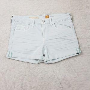 Pilcro Stet Fit Cuffed Denim Shorts 30